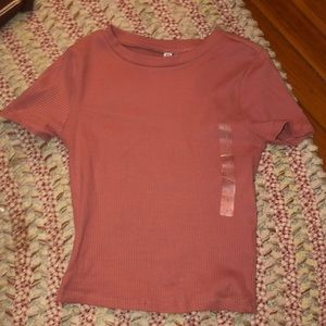 New with tags pink top